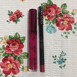 Kylie Cosmetics valentine lip kit